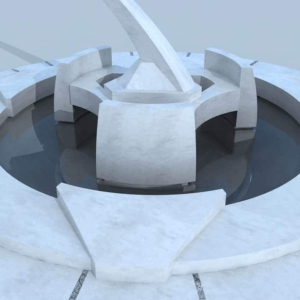 3D Projects: fountain - 1