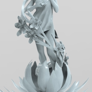 "Digital Sculpture ""Spring"" - 1"