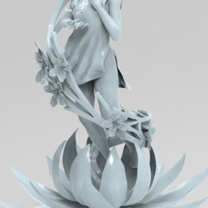 "Digital Sculpture ""Spring"" - 3"
