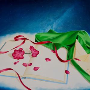 """Semplicity"" - 50 x 80 cm - Oil on canvas"