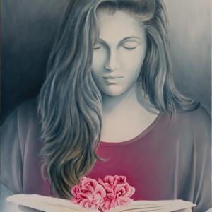 """Flowers"" - 60 x 40 cm - Oil on canvas"