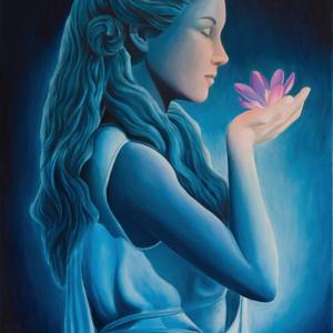 """""""Harmony"""" - 80 x 50 cm - Oil on canvas"""