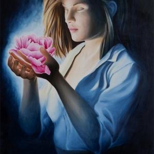 """""""Harmonies"""" - 100 x 60 cm - Oil on canvas"""