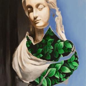 """Classical Nature"" - 40 x 60 cm - Oil paint on canvas"
