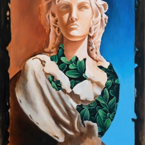 """Classical Nature 2"" - 40 x 60 cm - Oil paint on canvas"